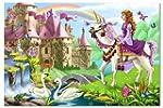 Melissa & Doug Fairy Tale Castle Floo...