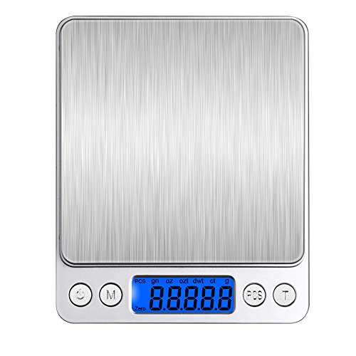Bengoo-3000g-Pocket-Digital-Scale-Stainless-Steel-Kitchen-Food-Scale-with-LCD-Display-Tare-Hold-and-PCS-Features-Silve