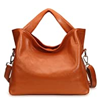 JiYe Womens 2P1006 1st Genuine Leather Leisure Shoulder Bag