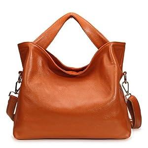 JiYe Womens 2P1006 1st Genuine Leather Leisure Shoulder Bag