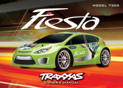 Traxxas 7395 Owners Manual - Ford Fiesta
