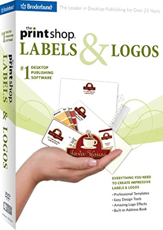The Print Shop: Labels and Logos 2009
