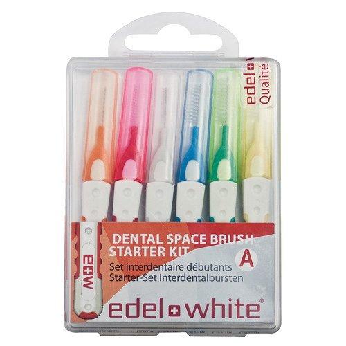 edel+white pro Interdentalbürsten Starterkit, 6 St