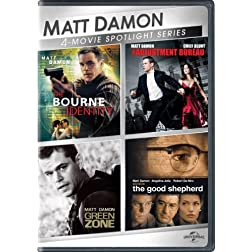 Matt Damon 4-Movie Spotlight Series