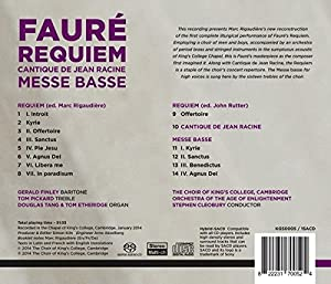 Faure: Requiem (The Choir of King's College, Cambridge) by King's College Cambridge