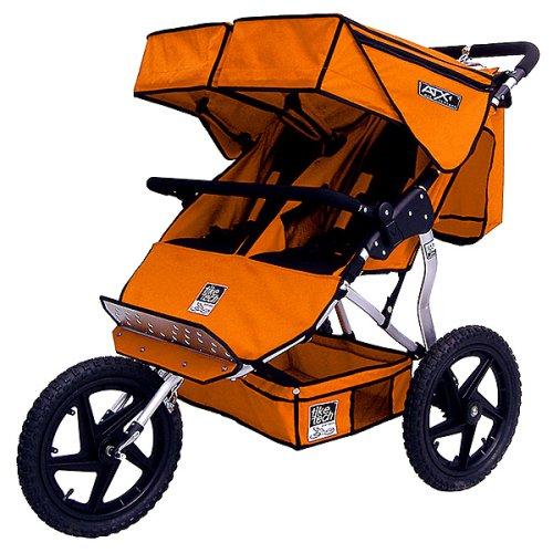 Tike Tech ATX Double Jogger Stroller - Canyon Orange - Buy Tike Tech ATX Double Jogger Stroller - Canyon Orange - Purchase Tike Tech ATX Double Jogger Stroller - Canyon Orange (Baby Products, Categories, Strollers)