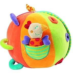 Babysun Nursery Hochet Grande Balle d'Activités Explorer Multicolore
