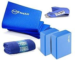 Yes4All PVC Yoga Kit - Blue - ²9LCWZ