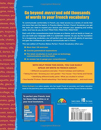 Practice Make Perfect French Vocabulary (Practice Makes Perfect Series)