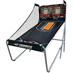 Triumph Sports Big Shot 8-in1 Basketball Arcade Game - 2 Player by Triumph Sports