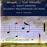 img - for Student Recordings: for Manual for Ear Training and Sight Singing book / textbook / text book