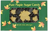 Butternut Mountain Farm Pure Maple Sugar Candy, 9-Ounce Box