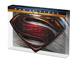 Man of Steel - Edition Metal Limitée et Numérotée - DVD + Blu-Ray + Blu-Ray 3D + Copie Numérique [Blu-ray 3D] [Édition Limitée et Numérotée]