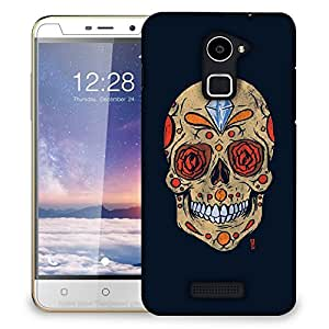 Snoogg Diamond Skull Designer Protective Back Case Cover For COOLPAD NOTE 3 LITE