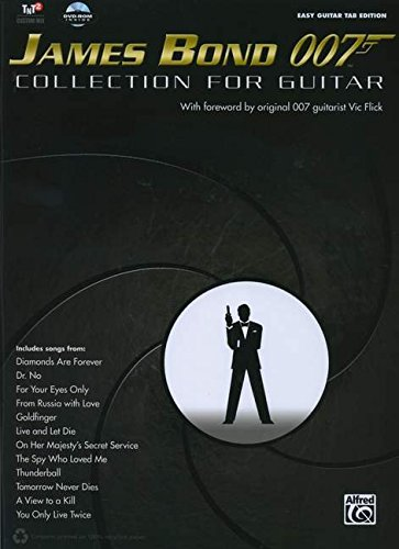 James Bond 007 Collection for Guitar [With DVD ROM] (Easy Guitar Tab Editions)