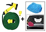 Vheelocity 71906 10m Pressure Water Gun Hose with Microfiber Glove for Cleaning