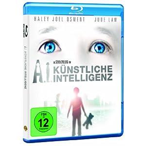BD * A.I. - Künstliche Intelligenz [Blu-ray] [Import allemand]