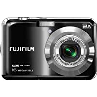 "Fujifilm FinePix AX650 - 16MP Digital Camera with 5x Optical Zoom, HD Video, 2.7"" TFT LCD Display - Black (Certified Refurbished) from FUJIFILM"