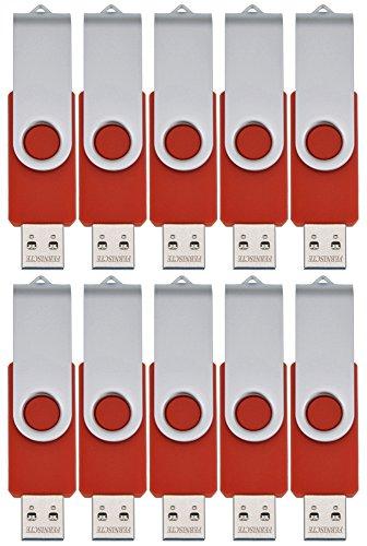 febniscte-10pcs-red-4gb-swivel-bulk-usb-20-flash-disk-giveaway-gift
