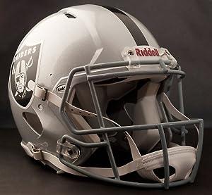 OAKLAND RAIDERS NFL Riddell Revolution SPEED Football Helmet by www.realhelmets.com