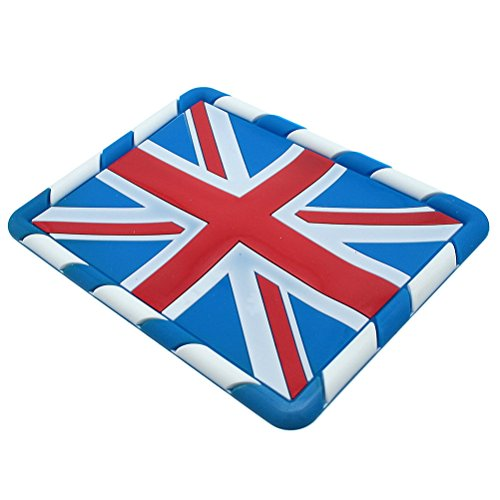 Waterwood British Flag Pattern Anti-slip Non-slip Mat Car Dashboard Adhesive Mat Sticky Pad for Cell Phone, PDA, GPS and other Electric Devices (British Car Mats compare prices)