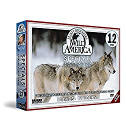 Marty Stouffer's Wild America Specials 12 DVDs Pack