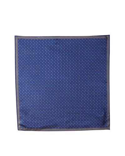 Versace Women's Patterned Silk Scarf, Blue