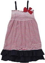 OshKosh B39gosh Little Girls39 Striped Knit Dress ToddlerKid - Red Stripe