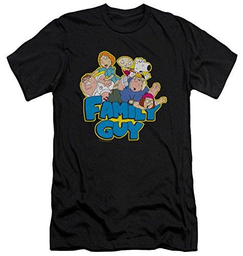 Family Guy Fight Slim Fit T-Shirt