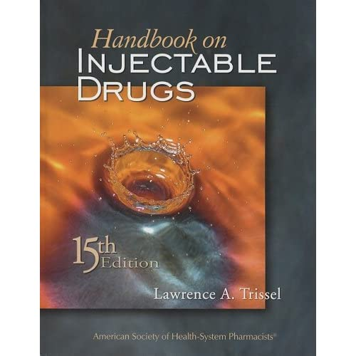handbook on injectable drugs 20th edition