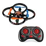Toynation Mini 2.4g 4ch 6 Axis Mini Quadcopter U207 Intruder Quadcopter Rc Nano Drone - Black