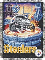 NFL Pittsburgh Steelers Acrylic Tapestry Throw Blanket