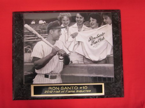 Ron Santo Chicago Cubs Collector Plaque w/8x10 RARE FAN CLUB PHOTO at Amazon.com