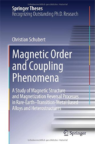 Magnetic Order And Coupling Phenomena: A Study Of Magnetic Structure And Magnetization Reversal Processes In Rare-Earth-Transition-Metal Based Alloys And Heterostructures (Springer Theses)