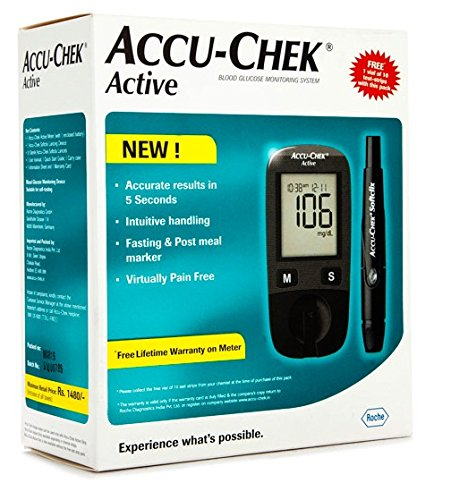 accu-chek-sugar-testing-moniter-from-roche-free-10-test-strips