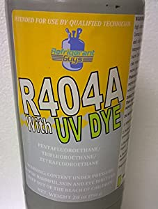 R404A Refrigerant With UV Dye Added - 1.7 Lb Disposable Small Cylinder by Mariel USA