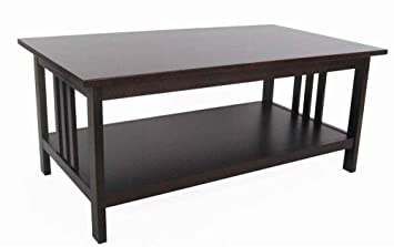 Mission Coffee Table - Espresso