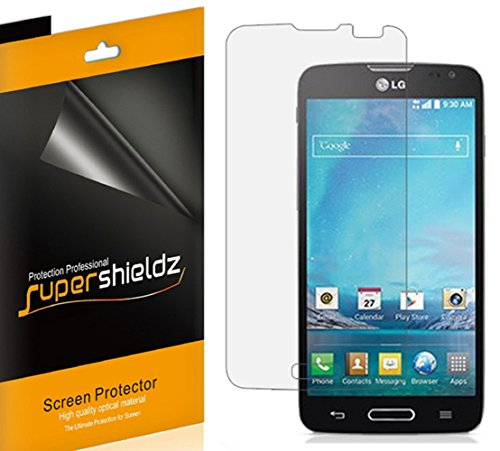 [6-Pack] Supershieldz- High Definition Clear Screen Protector For LG Optimus L90 (T-Mobile) + Lifetime Replacements Warranty [6-PACK] - Retail Packaging (Cell Phone Accessories For L90 compare prices)