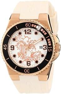 Amazon.com: Ed Hardy Women's IM-KI Immersion White Watch