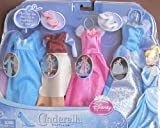 Disney Princess CINDERELLA Total FAIRYTALE FASHIONS SET Fits BARBIE Other 115 Fashion Dolls w 4