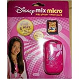 Disney Princess Mix Micro MP3 Player with High School Musical Mix Clip Card Included ~ Disney