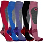 4 Pairs - HIGH PERFORMANCE ladies ski...
