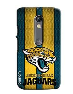 Omnam Jackonville Jaguars Effect Printed Designer Back Cover Case For Motorola Moto X Play