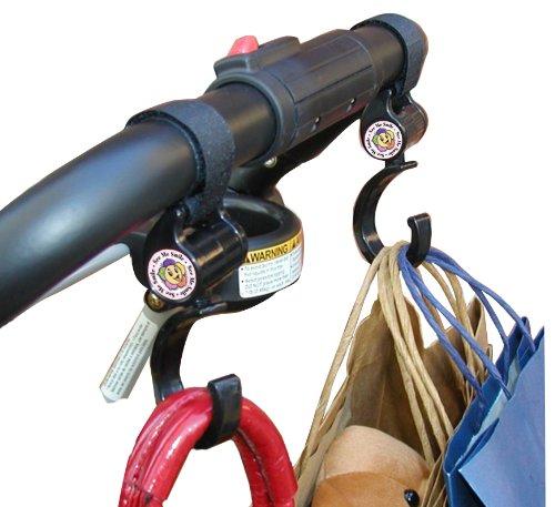 Hook 'n' Stroll Stroller Accessory, Black.