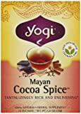Yogi Mayan Cocoa Spice, Herbal Tea Supplement, 16-Count Tea Bags (Pack of 6)