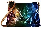 Snoogg Amazing Smoke Designer Womens Carry Around Sling Bags