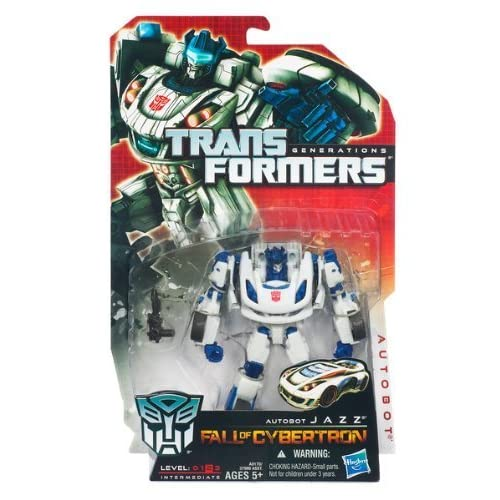 Transformers Generations Fall Of Cybertron Action Figure - Autobot Jazz by Hasbro (English Manual)