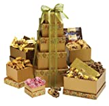 Broadway Basketeers Happy Birthday Gift Tower Deluxe