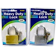 Ddi High Security 60 Mm Lock With 4 Keys - Case Pack 48 Units (Pack Of 48)