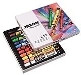 JAXON by Honsell - 49436 - Aquarell Wachspastelle 12er Set von Jaxon